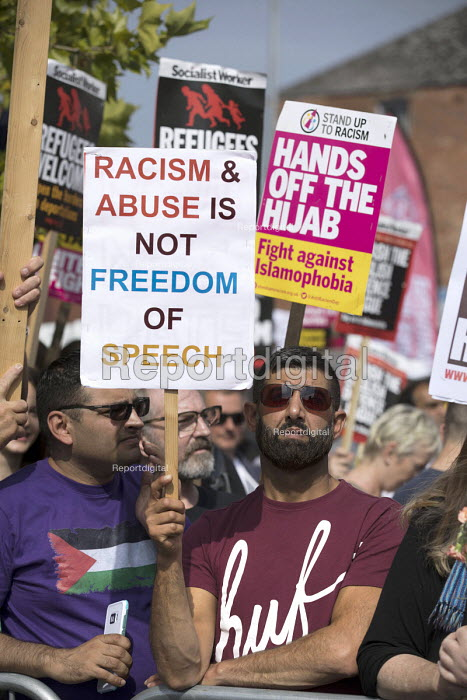Anti fascist March for Unity counter protest against EDL national protest, Worcester - Jess Hurd - 2018-09-01