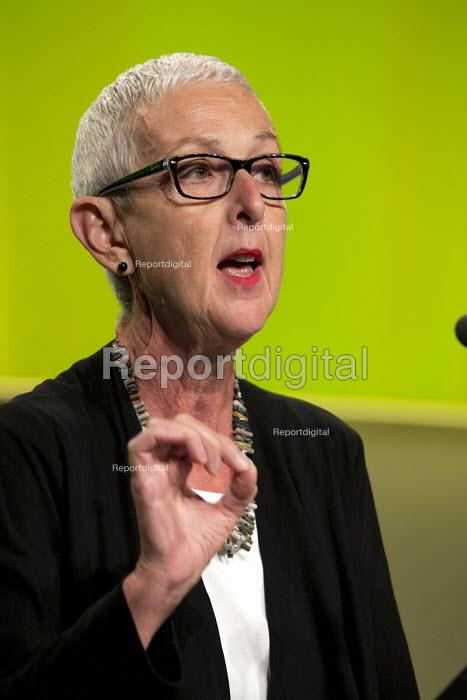 Gail Cartmail Unite speaking TUC Congress Manchester 2018 - John Harris - 2018-09-10