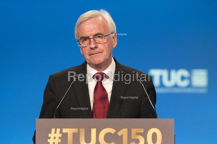 John McDonnell speaking TUC Congress Manchester 2018 - John Harris - 2018-09-11