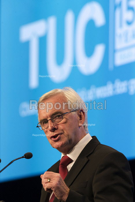 John McDonnell speaking TUC Congress Manchester 2018 - John Harris - 2018-09-11
