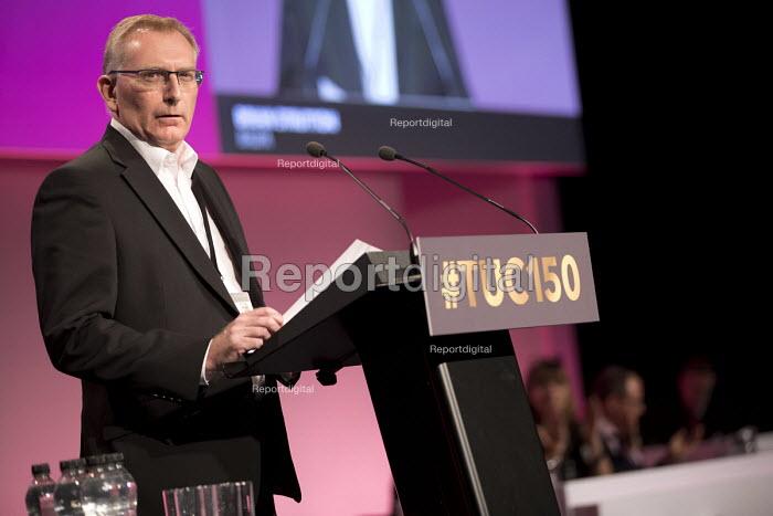 Brian Strutton, BALPA speaking TUC Congress, Manchester 2018 - Jess Hurd - 2018-09-10