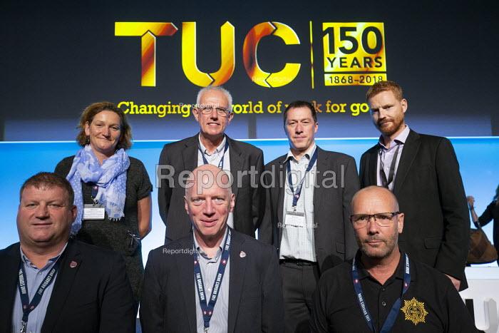 FBU delegation TUC conference 2018 Manchester - John Harris - 2018-09-11