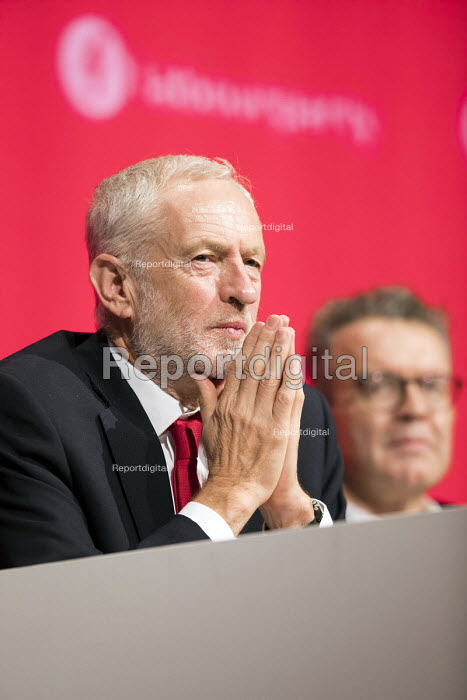 Jeremy Corbyn and Tom Watson, Labour Party Conference, Liverpool, 2018 - Jess Hurd - 2018-09-23