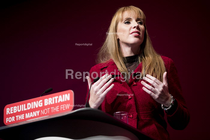 Angela Rayner MP speaking Labour Party Conference, Liverpool, 2018 - Jess Hurd - 2018-09-24