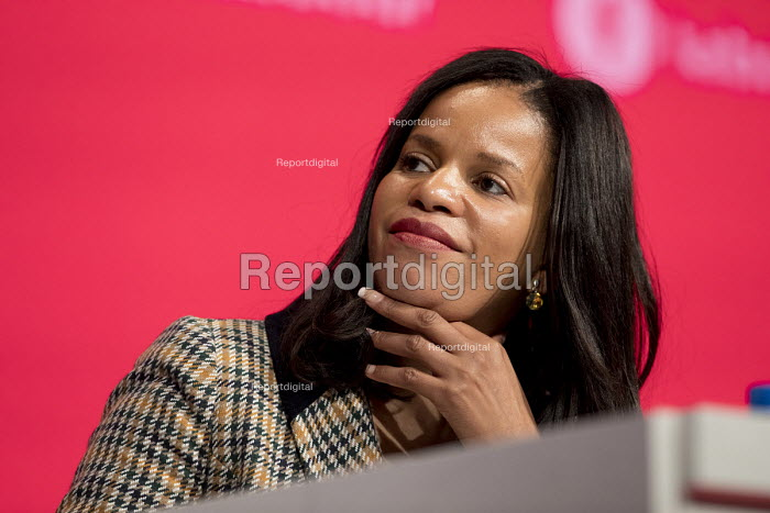 Claudia Webbe Labour Party Conference, Liverpool, 2018 - Jess Hurd - 2018-09-25