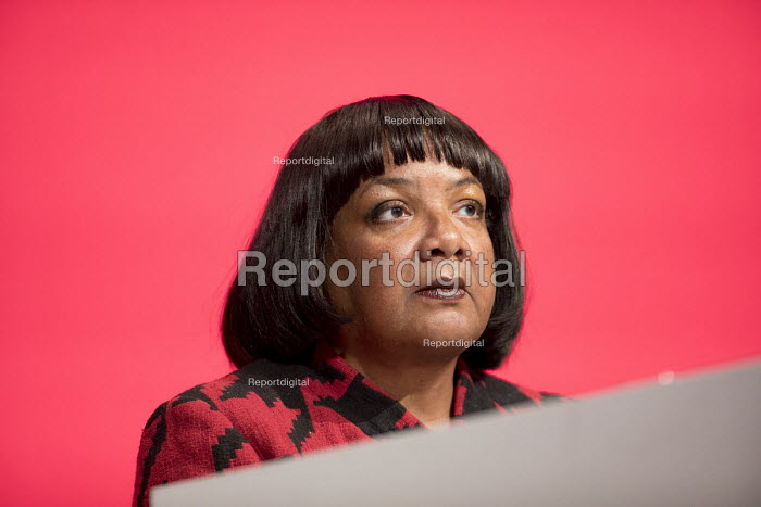 Diane Abbott MP Labour Party Conference, Liverpool, 2018 - Jess Hurd - 2018-09-25