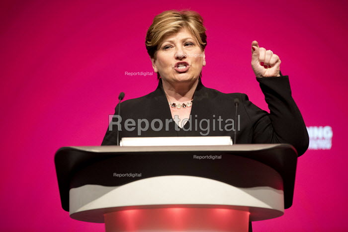 Emily Thornberry MP speaking Labour Party Conference, Liverpool, 2018 - Jess Hurd - 2018-09-25