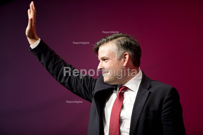 Jonathan Ashworth MP speaking Labour Party Conference, Liverpool, 2018 - Jess Hurd - 2018-09-26