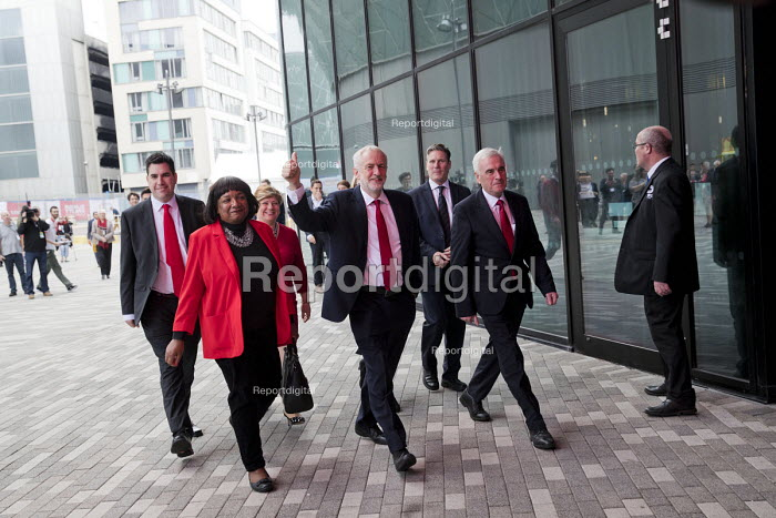 Jeremy Corbyn and the shadow cabinet Labour Party Conference, Liverpool, 2018 - Jess Hurd - 2018-09-26