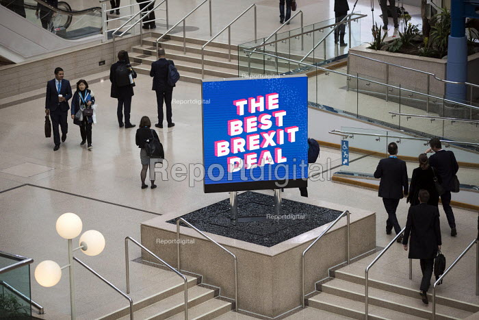 Best Brexit Deal sign, Conservative Party Conference, Birmingham, 2018 - Jess Hurd - 2018-09-30