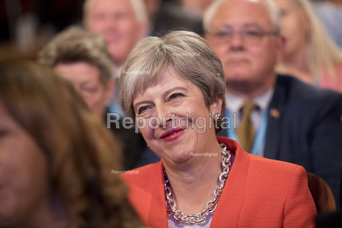 Theresa May Conservative Party Conference, Birmingham, 2018 - Jess Hurd - 2018-09-30
