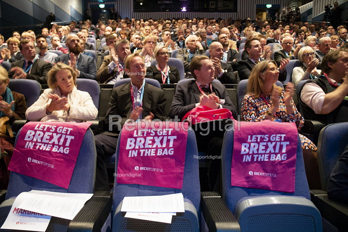 Making a Sucess of Brexit fringe meeting, Conservative Party Conference Birmingham 2018 - John Harris - 2018-09-30