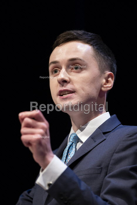 Darren Grimes IEA speaking Making a Sucess of Brexit fringe meeting, Conservative Party Conference Birmingham 2018 - John Harris - 2018-09-30