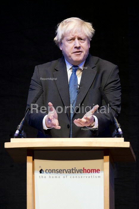 Boris Johnson speaking Conservative Party Conference, Birmingham, 2018 - Jess Hurd - 2018-10-02