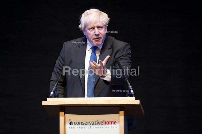 Boris Johnson speaking Conservative Party Conference, Birmingham, 2018 - Jess Hurd - 2018-10-02