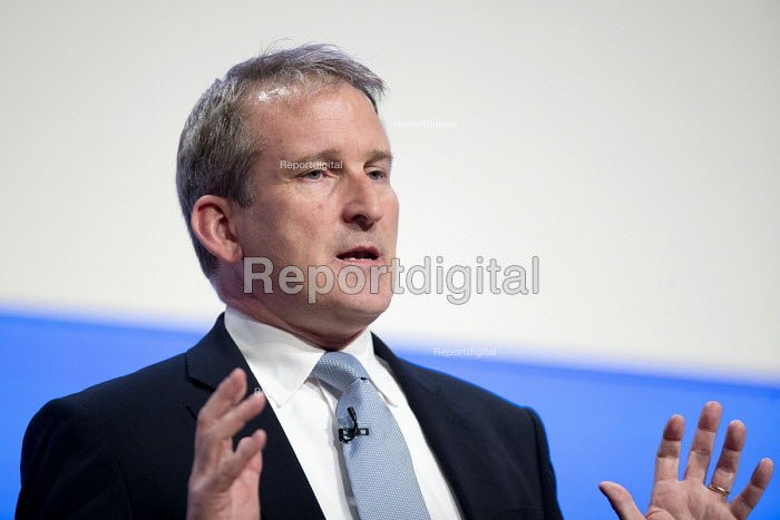 Damian Hinds speaking Conservative Party Conference, Birmingham, 2018 - Jess Hurd - 2018-10-02