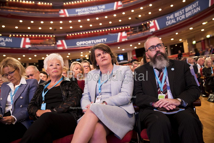 Arlene Foster DUP, Conservative Party Conference, Birmingham, 2018 - Jess Hurd - 2018-10-02