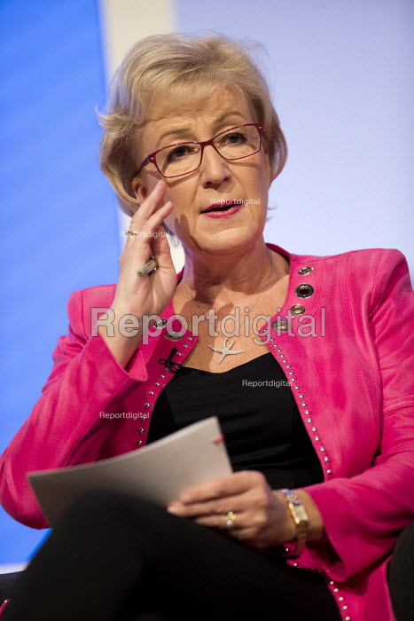 Andrea Leadsom speaking Conservative Party Conference, Birmingham, 2018 - Jess Hurd - 2018-10-02