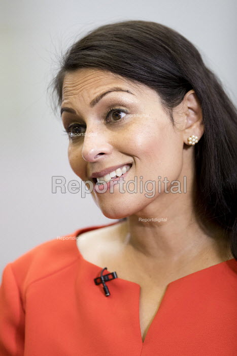 Priti Patel Conservative Party Conference, Birmingham, 2018 - Jess Hurd - 2018-10-02