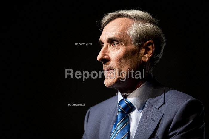 John Redwood speaking, Politeia fringe meeting, Conservative Party Conference, Birmingham, 2018 - Jess Hurd - 2018-10-02