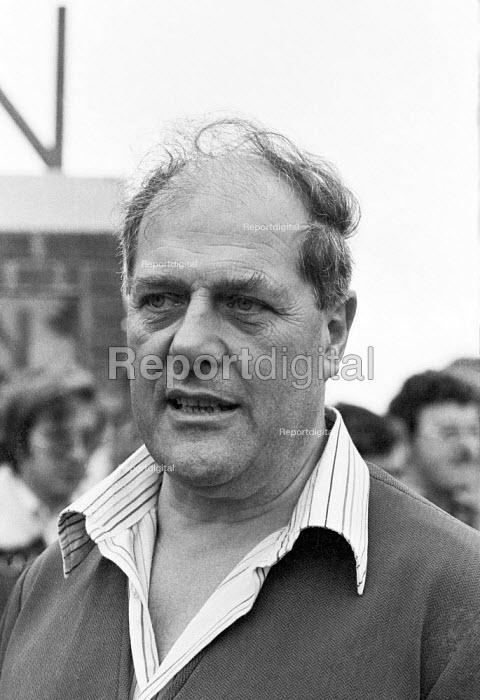 Derek Robinson, trade union convenor, British Leyland, Longbridge, Birmingham 1979. Attacked and vilified in the press as Red Robbo - NLA - 1979-09-03