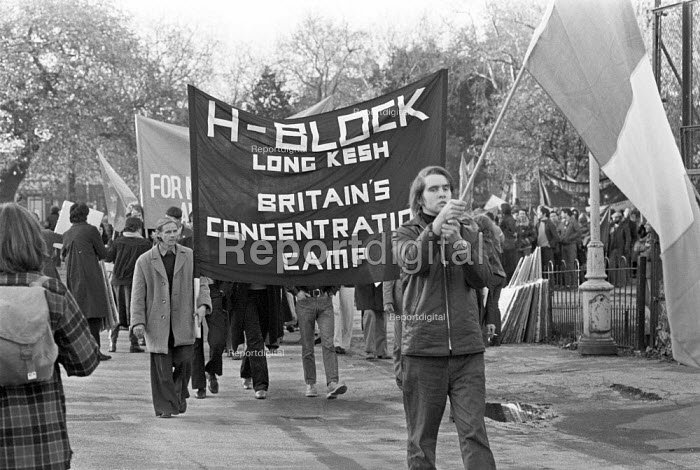 Protest against the Prevention of Terrorism Acts London 1979 and the H-Blocks at Long Kesh in Northern Ireland - NLA - 1979-11-23