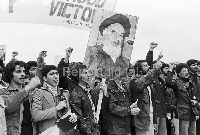 Protest in support of the Iranian Revolution, London 1979 - NLA - 1979-12-02