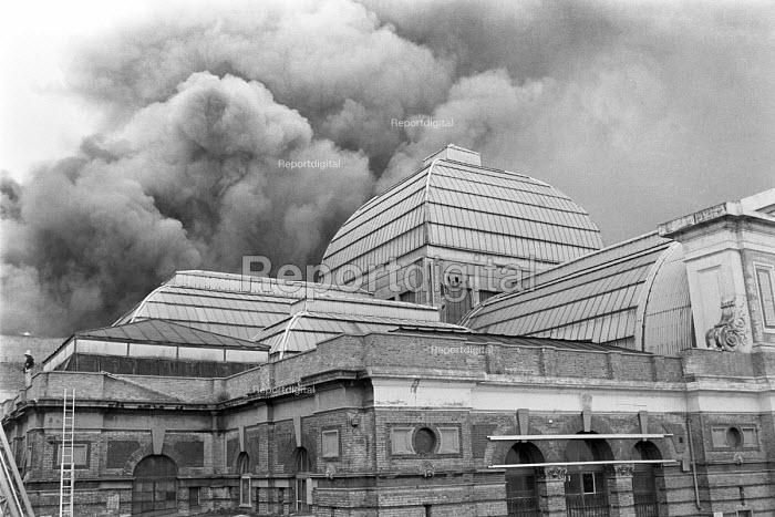 Fire, Alexandra Palace, North London 1980 - NLA - 1980-07-10