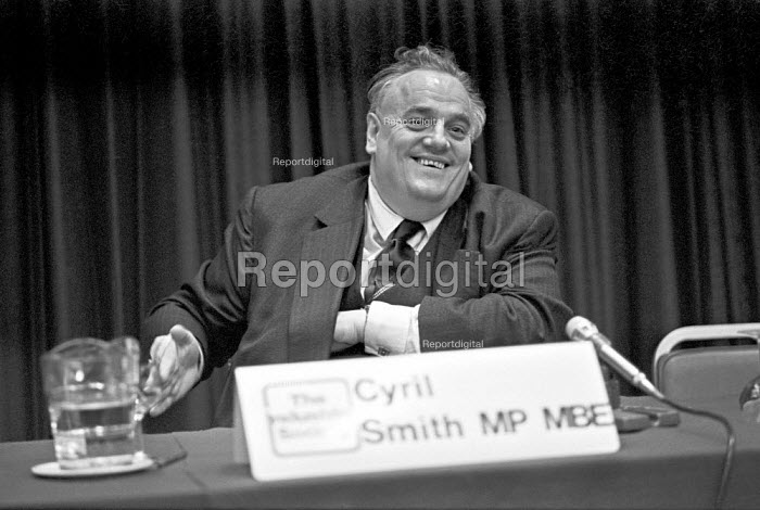 Cyril Smith MP, Industrial Society conference, London 1976 The great debate -industrial democracy - Martin Mayer - 1976-05-20