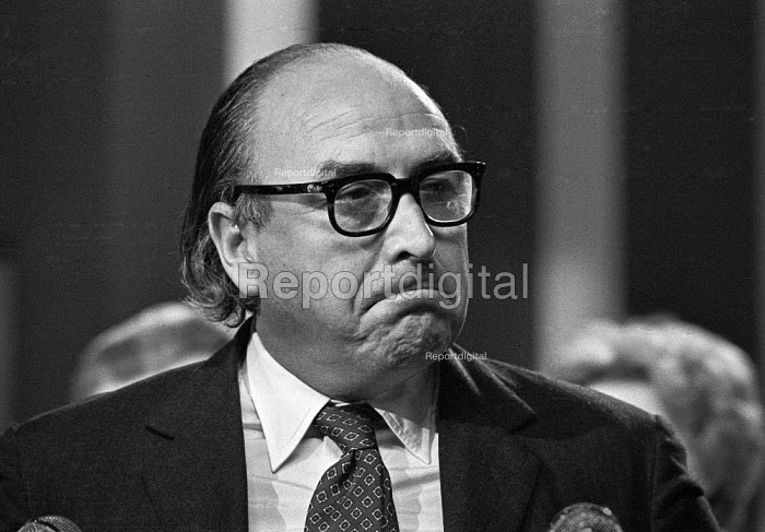 Roy Jenkins speaking 1973 Labour Party Conference - Peter Arkell - 1973-10-03
