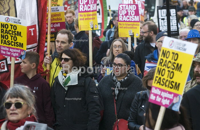 Stand Up To Racism protest London - Stefano Cagnoni - 2018-11-17