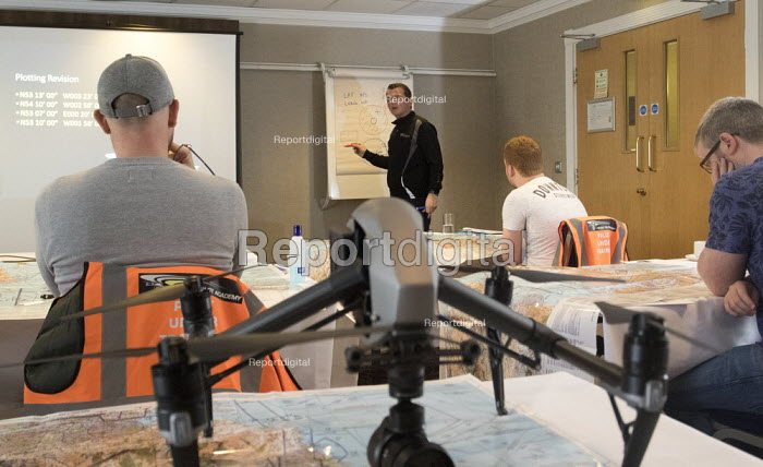 Drone Pilot Academy training drone pilots for their Commercial CAA licence, Milton Keynes - Paul Box - 2018-04-27