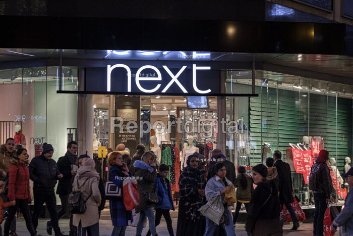 Next. End of year sales, Oxford Street, London - Philip Wolmuth - 2018-12-30