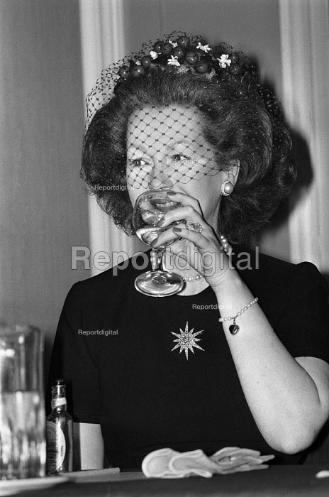 Countess Spencer speaking 1982 British Tourist Board press conference, London - NLA - 1982-01-22