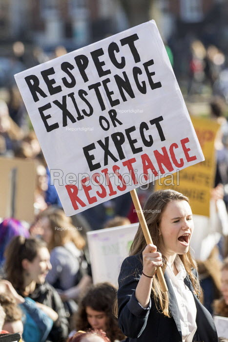 Climate strike students protest, Bristol - Paul Box - 2019-02-15