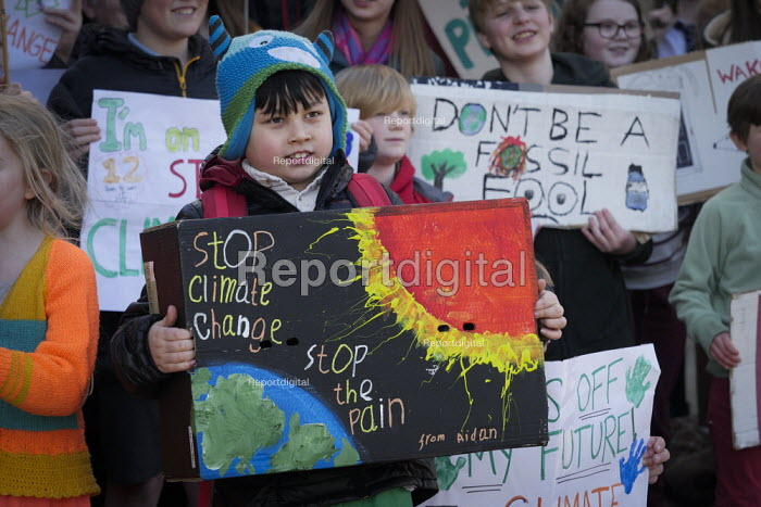 Youth strike against climate change, Newcastle University... - Mark Pinder, mp15021906.jpg