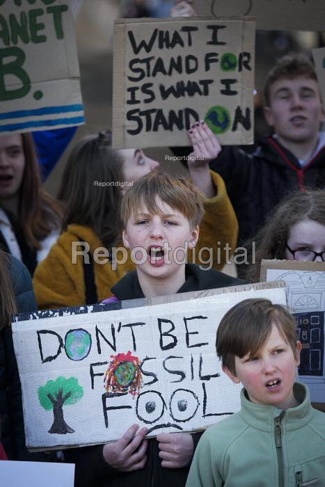 Youth strike against climate change, Newcastle University, Newcastle Upon Tyne - Mark Pinder - 2019-02-15