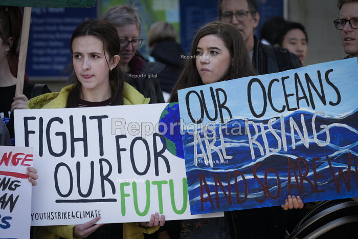 Youth strike against climate change, Newcastle University... - Mark Pinder, mp15021909.jpg