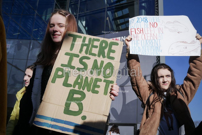 Youth strike against climate change, Newcastle University... - Mark Pinder, mp15021913.jpg
