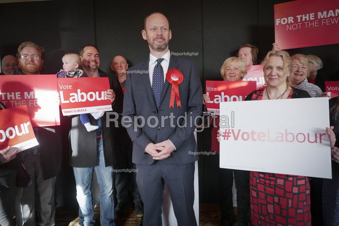 Jamie Driscoll Labour Party candidate for the North of Tyne Mayor election. The Momentum backed candidate beat Nick Forbes, leader of Newcastle City Council, to be the party candidate, Tynemouth - Mark Pinder - 2019-02-20
