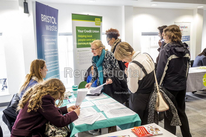 Unite South West Jobs day. Jobs and training Fair, Bristol - Paul Box, PB1902S71.JPG