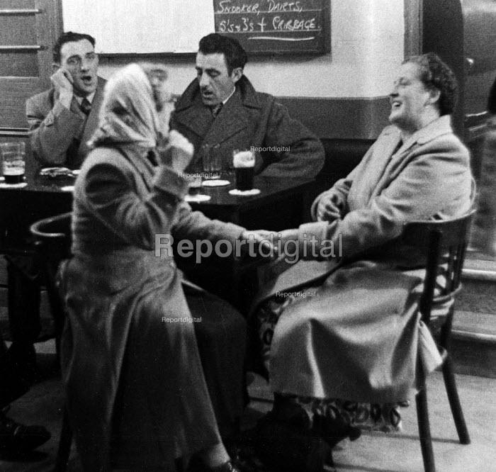Ladies Night, Working Mens Club Selby Yorkshire 1954 - Phil Preston - 1954-01-08