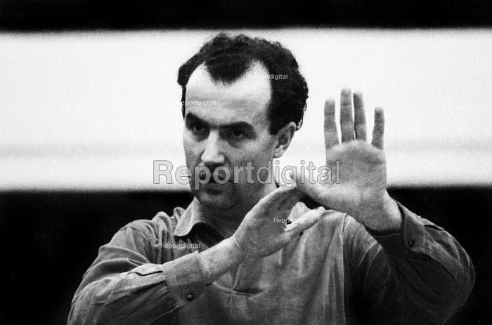 Italian composer Luigi Nono London 1961 - Romano Cagnoni - 1961-02-11
