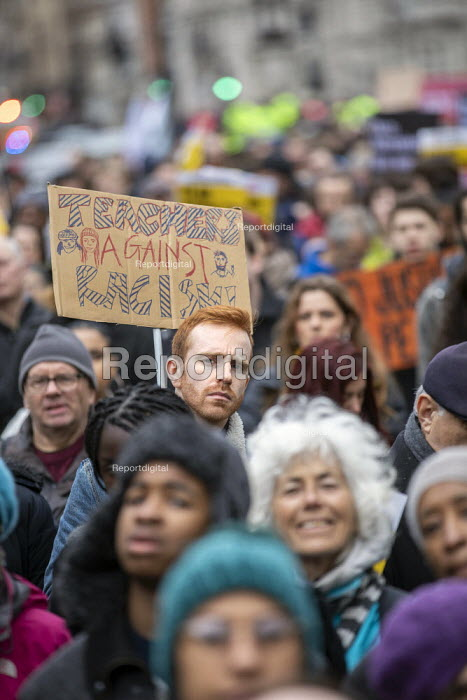Teachers Against Racism, Stand Up to Racism march and rally, London. UN Anti Racism Day - Jess Hurd - 2019-03-16