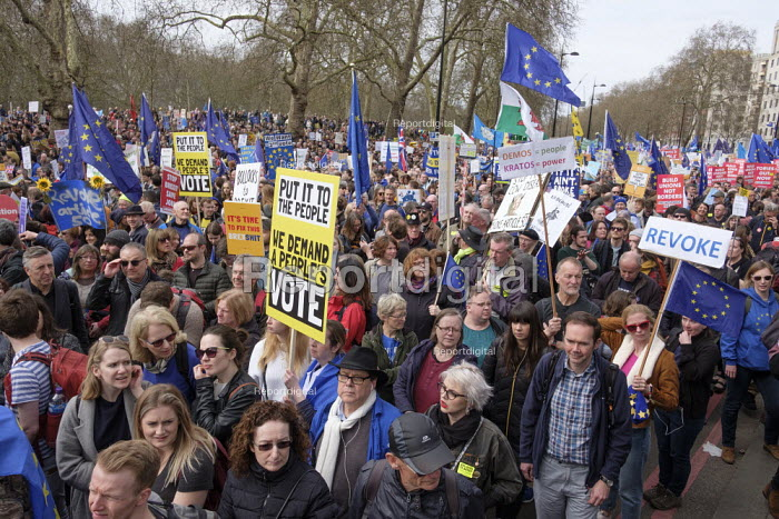 People's Vote march, London. For a second EU referendum - Philip Wolmuth - 2019-03-23