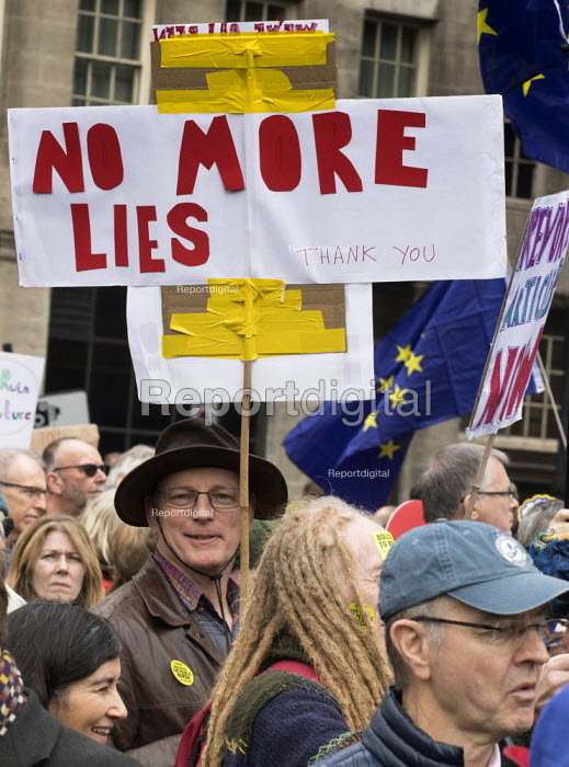People's Vote march, London. For a second EU referendum - Martin Mayer - 2019-03-23