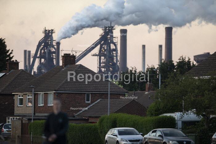 British Steel Scunthorpe. Greybull Capital has put British Steel into receivership. Lincolnshire - John Harris - 2019-05-22