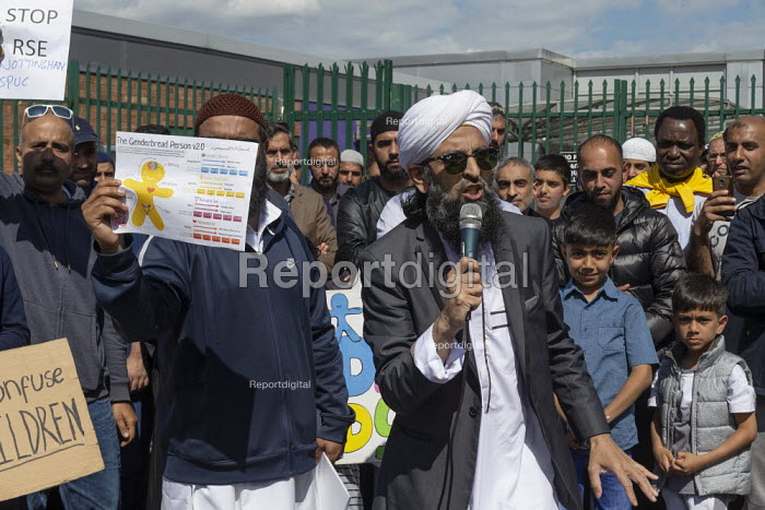 Protest against LGBT education, Anderton Park Primary School, Birmingham - John Harris - 2019-05-24