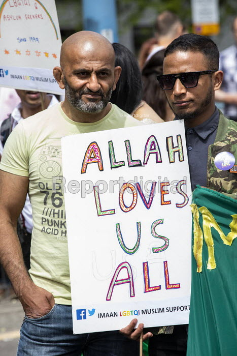 Allah Loves Us All, Supporting gay Muslims, Birmingham Gay Pride - Jess Hurd - 2019-05-25