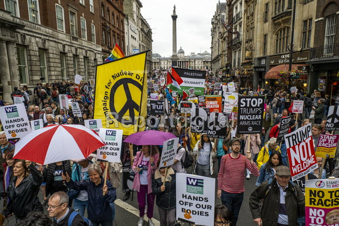 Together Against Trump, stop the state visit protest against Donald Trump, London - Jess Hurd - 2019-06-04